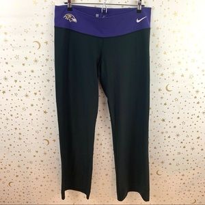 Nike | Baltimore Ravens Dri-Fit Workout Pants XL